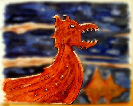 Boat dragon
