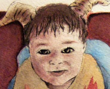 devilsih baby